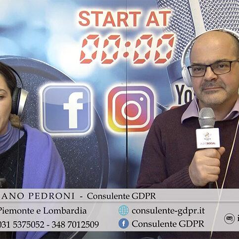 consulente gdpr stefano pedroni radio live social